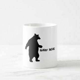 Oso del bebé tazas de café