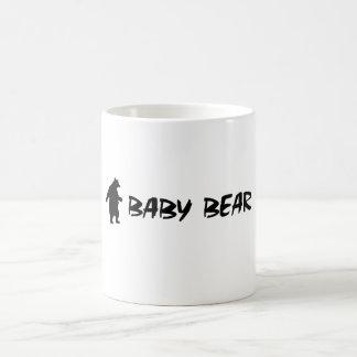 Oso del bebé taza