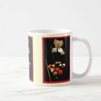 Oso del billar tazas de café