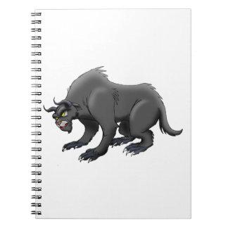 Oso del demonio notebook