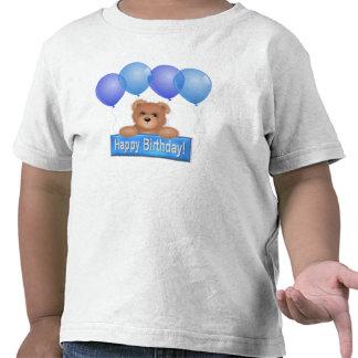 Oso del feliz cumpleaños camisetas