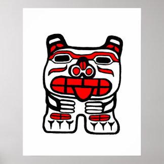 oso del haida póster