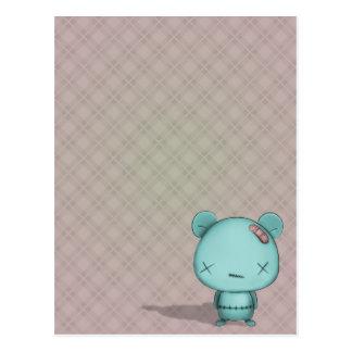 oso del kawaii tarjetas postales