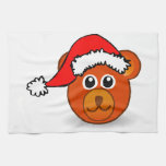 Oso del navidad toallas