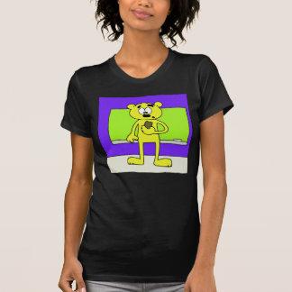 Oso del tablero de tiza tshirt