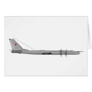 Oso del Tupolev Tu-95 Tarjetas