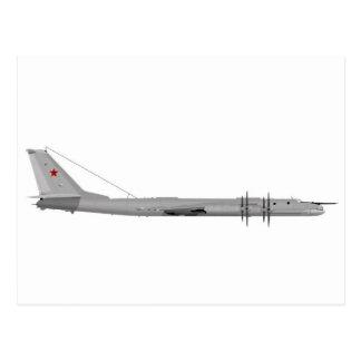 Oso del Tupolev Tu-95 Tarjetas Postales