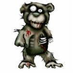 oso del zombi esculturas fotograficas