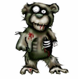 oso del zombi fotoescultura vertical