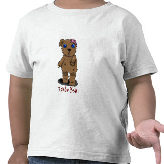 ¡Oso del zombi para los niños! Camisetas