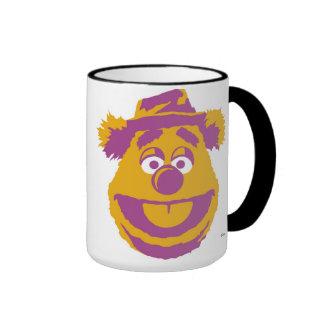 Oso Disney de Fozzie de los Muppets Taza A Dos Colores