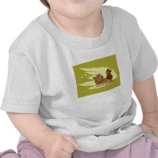Oso Disney sonriente de Kenai y de Koda Brother Camisetas