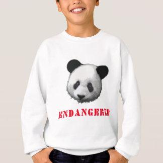 Oso en peligro gran panda sudadera