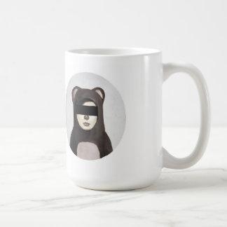 oso falso taza básica blanca