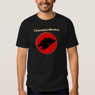 Oso gay de los colores del orgullo del oso de camisas