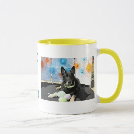 Oso - German Shepherd -4 Mug