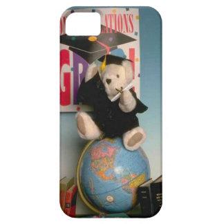 Oso graduado iPhone 5 carcasa