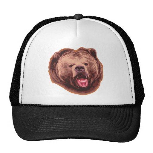 Oso grizzly gorros