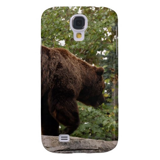 Oso grizzly i funda para galaxy s4