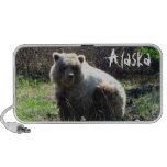 Oso grizzly rechoncho de CGB iPod Altavoces