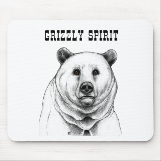Oso grizzly alfombrillas de raton