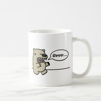 Oso grizzly taza