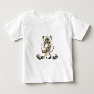 oso huggable playera de bebé