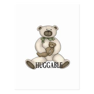 oso huggable postal