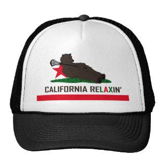 Oso LaCrosse de California Gorro De Camionero