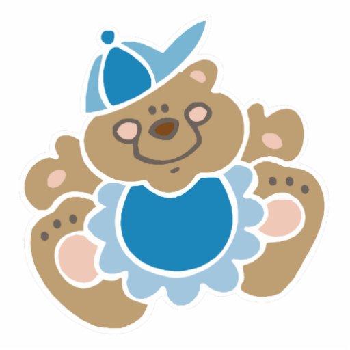 oso lindo del bebé escultura fotográfica