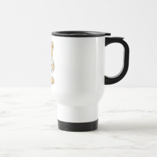 Oso lindo del doctor peluche taza de café