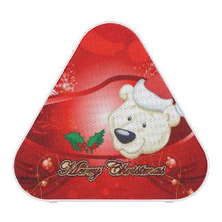 Oso lindo del navidad altavoz bluetooth