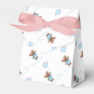 Oso lindo, fiesta del té cajas para regalos de fiestas