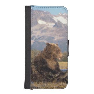 oso marrón, arctos del Ursus, oso grizzly, Ursus 2 Cartera Para iPhone 5