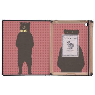 oso marrón del arco iPad cárcasa