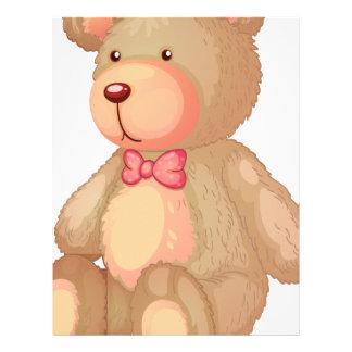 oso membrete personalizado