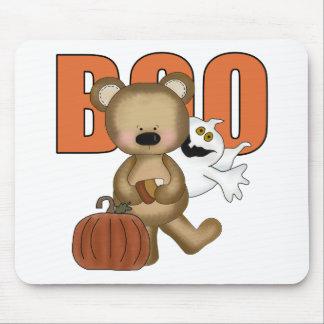 Oso Mousepad del abucheo de Halloween Alfombrilla De Ratones