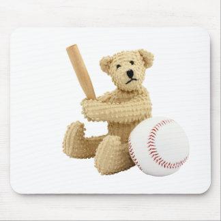 Oso Mousepad del béisbol