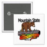 Oso negro del estado de la montaña de Virginia Occ Pins
