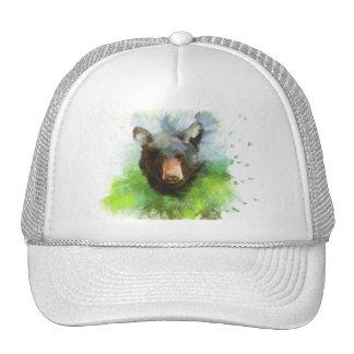 Oso negro gorra
