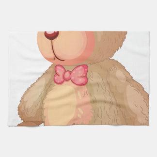 oso toalla de mano