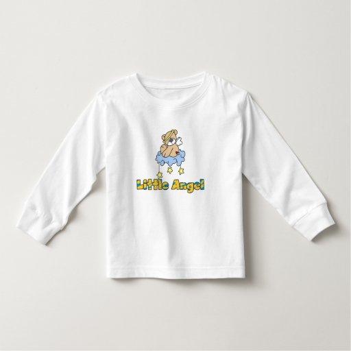 Oso pocas camisetas y regalos del ángel playera de manga larga de niño