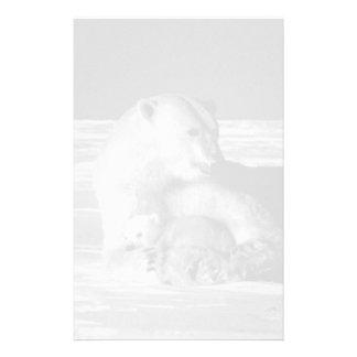Oso polar 1970 de la madre de los E.E.U.U. Alaska Papeleria