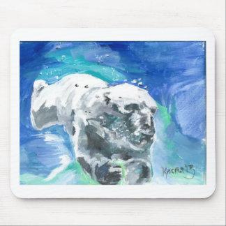 oso polar 2 tapetes de ratones