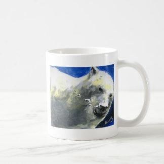 oso polar 4 taza de café