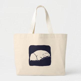 Oso polar - ahorre la tierra bolsa