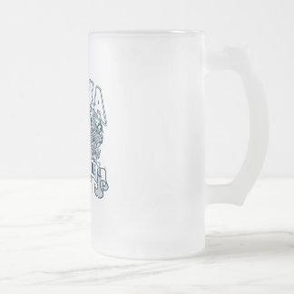 Oso polar Alaska Jarra De Cerveza Esmerilada
