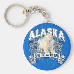 Oso polar Alaska Llaveros