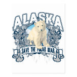 Oso polar Alaska Postal