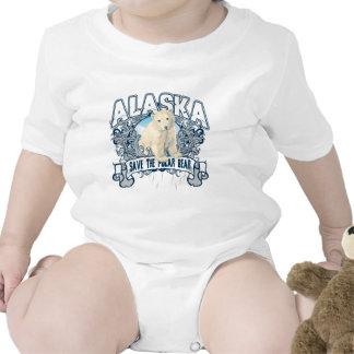 Oso polar Alaska Trajes De Bebé